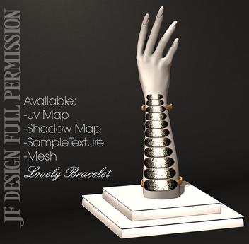 -JF- Design- Lovely Bracelet - Full Permission
