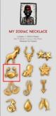 My Zodiac Necklace-Cancer /B.