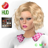 "eDeLsToRe woman mesh hair "" Despina "" all color HUD no rigg version"