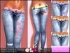 ALESSANDRA - Flower Jeans (5 Color Pack)