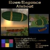 Ashira's Elven Elegance Airboat
