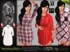 Hermina Shirt Top MESH - Maitreya Lara, Slink Physique Hourglass, TMP - HUD - DreamLife - FashionNatic
