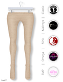 GAWK! Camel Cotton Tights   BoM & Appliers for Maitreya, Slink Physique, TMP & Omega System