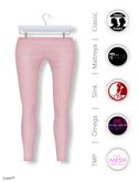 Gawk! Rose Cotton Leggings incl. Appliers for #TheMeshProject, Maitreya Lara, Slink Physique & Omega System