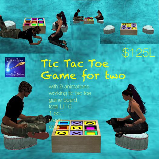 TicTacToe Game for 2 (crate)