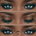 .euphoric ~Glitter  Lashes ~[for Catwa Mesh Head] Hud 4 Colors