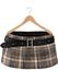 Blueberry - Kyla Mesh Pleated Mini Skirt - Maitreya Lara, Belleza, Slink Physique Hourglass - Plaid Beige