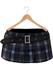 Blueberry - Kyla Mesh Pleated Mini Skirt - Maitreya Lara, Belleza, Slink Physique Hourglass - Plaid Midnight