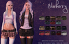 Blueberry kyla mini skirts3