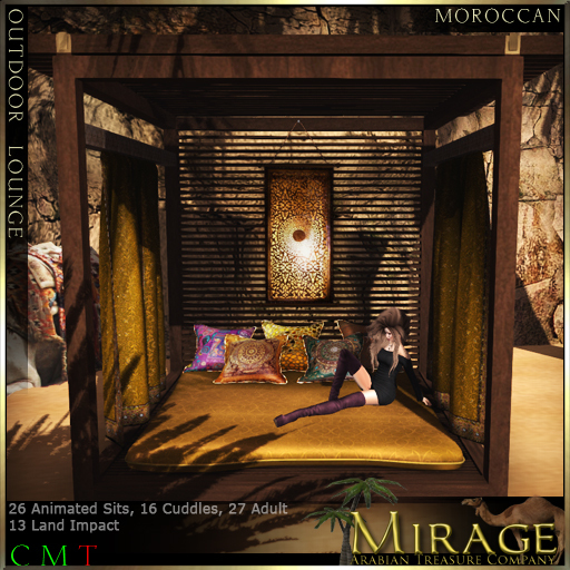 =Mirage= Outdoor Lounge - Moroccan