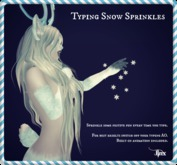 Jinx : Typing Snow Sprinkles