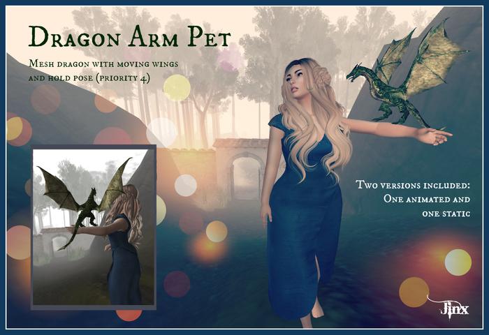 Jinx : Dragon Arm Pet