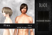 Uw.st   Ilias-Hair  Black