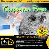 I+D TELEPORTER PANEL