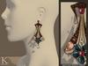 (Kunglers) Cerys earrings - Copper