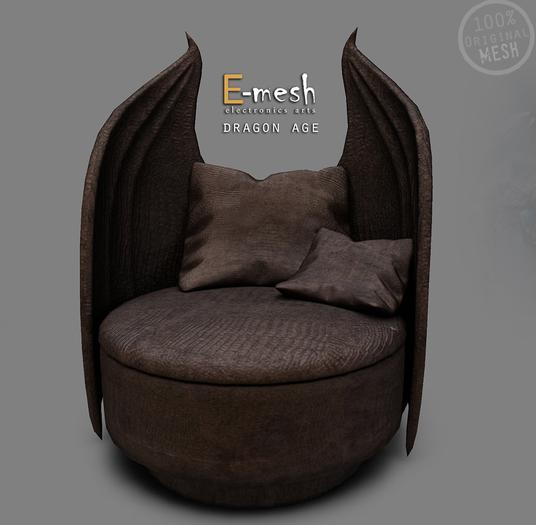 E-mesh: Dragon Age Chair