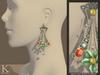 (Kunglers) Cerys earrings - Silver