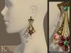 %28kunglers%29 cerys earrings golden