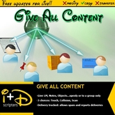 I+D GIVE ALL CONTENT