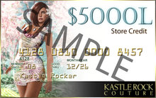KR Couture Gift Card 5000