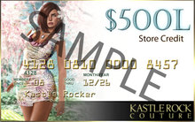 KR Couture Gift Card 500