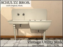 1897 Vintage Utility Sink