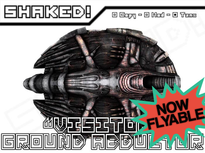 """SHAKED! - """"Visitor"""" Ground Abductor NOW FLYABLE"""