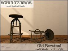 Old Fashioned Stool - 2 LI