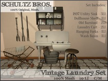 [Schultz Bros.] Vintage Laundry Set 1.0 - (Boxed)