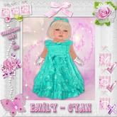 CCC Emily - Cyan - Baby & Kid Toddleedoo