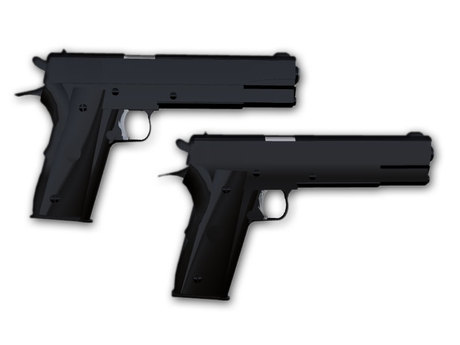 M/S Colt-45 Black Semi-Auto V2.2 and Melee Switcher 1.0 Combat System