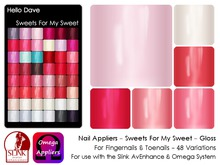 Hello Dave - Nail Appliers - Sweets For My Sweet - Gloss