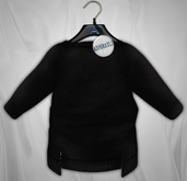 Admirable.  Stepped Sweater (Black)