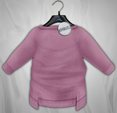 Admirable.  Stepped Sweater (Lilac)