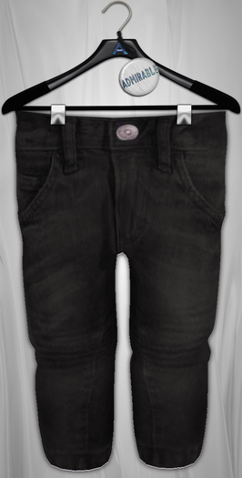 Admirable. Relaxed Jeans (Black)