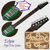 Thadovian Eclipse Guitar -Green - Boxed