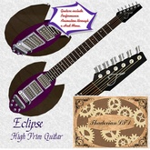 Thadovian Eclipse Guitar - Purple