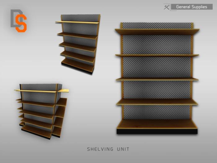 [DS] Shelving Unit