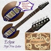 Thadovian Eclipse Guitar - Blue