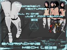 -Dimensional Bad Machine [Mech Legs]