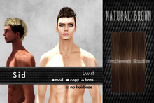 Uw.st   Sid-Hair  Natural brown