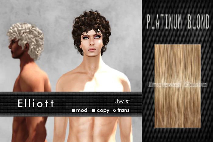Uw.st   Elliott--Hair  Platinum blond