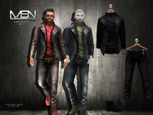 [MSN Design] Carl Outfit [BLACK - NAVY]