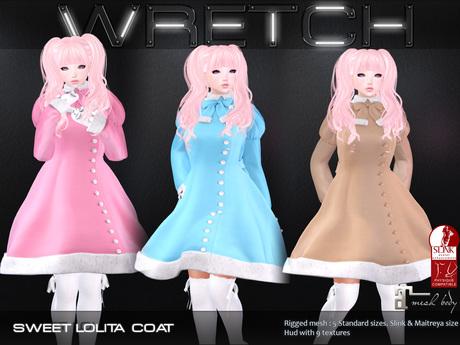:: Wretch :: Sweet Lollita Coat