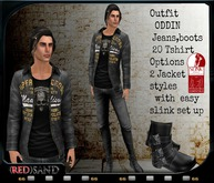 (red)sand outfit ODDIN !