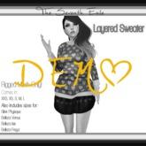 T7E: Layered Sweater - DEMO