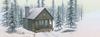 Facebook cover alpine cabin