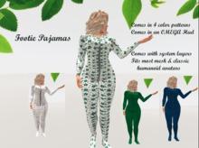 {{P.I.D&D}} Footie Pajamas Multi-option Omega Applier