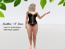 {{P.I.D&D}} Leather N Lace  Omega Applier