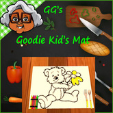 GG* GOODIE KID'S MAT* OVER 40 YUMMY MEALS